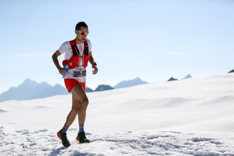 Cristofer Clemente. Stubai Ultra Trail 2018. Créditos ©PhilippReiter